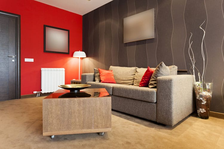 Accent Wall Living Room - 11 best Samples 8