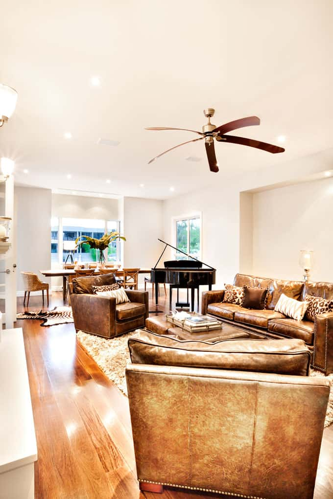 Modern Living Room Ceiling Fan Ideas 3