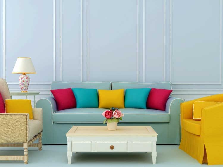 Colorful living room-45 best Samples 72