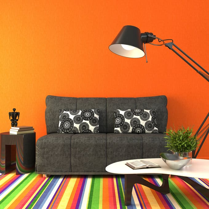 Colorful living room-45 best Samples 73