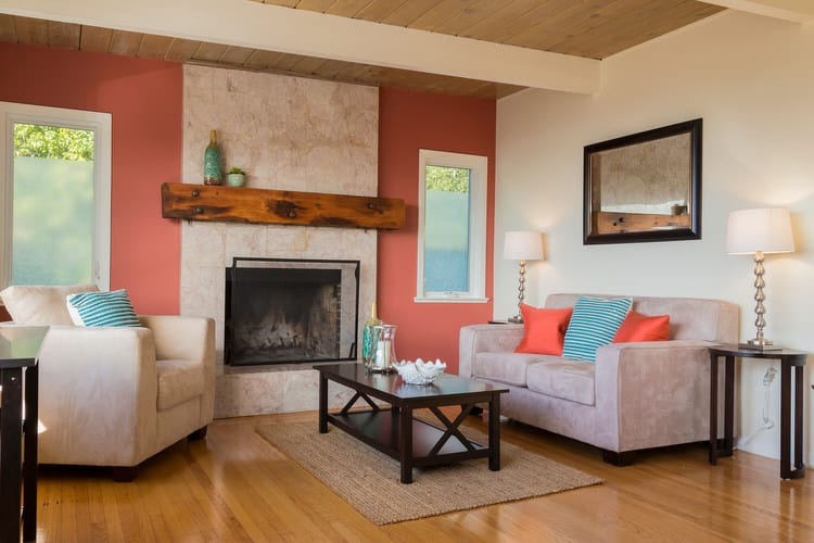 Colorful living room-45 best Samples 76