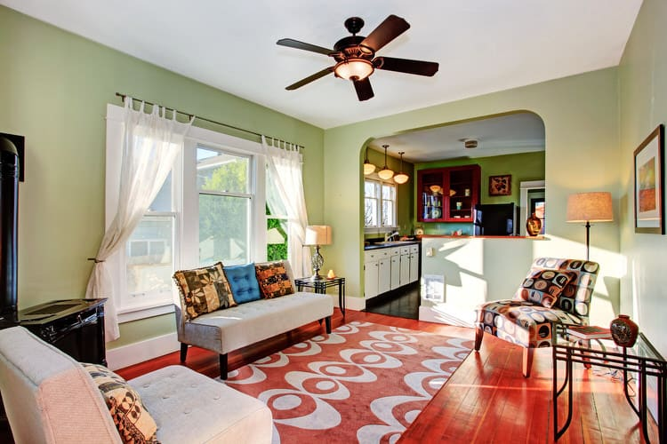 Colorful living room-45 best Samples 79