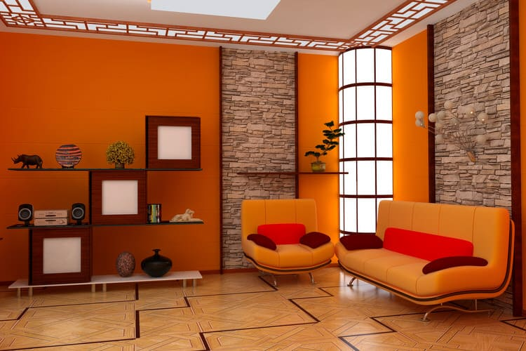 Colorful living room-45 best Samples 82