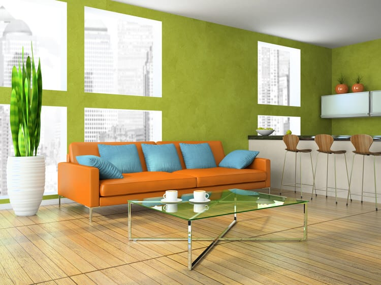 Colorful living room-45 best Samples 83