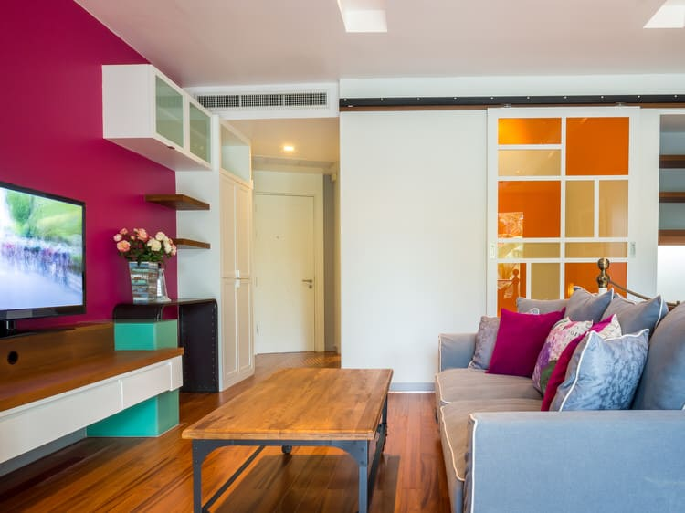Colorful living room-45 best Samples 98