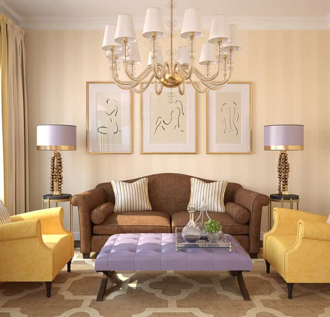 Colorful living room-45 best Samples 102