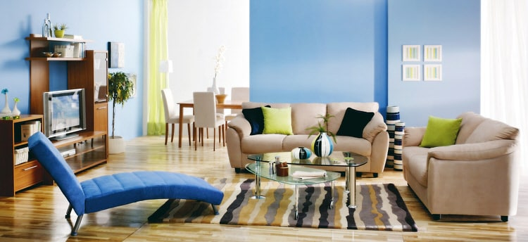 Colorful living room-45 best Samples 107