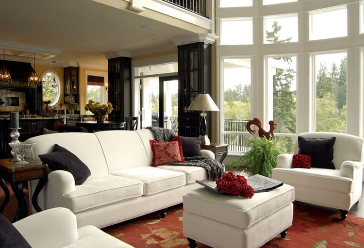 28 Elegant Living Room Designs 13