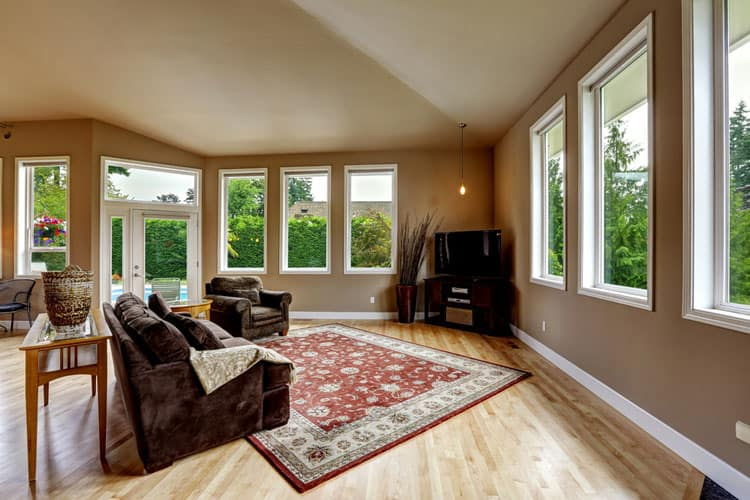 30 Living Rooms With Hardwood Floors 118