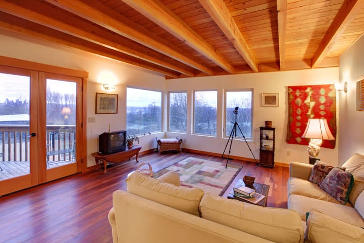 30 Living Rooms With Hardwood Floors 119