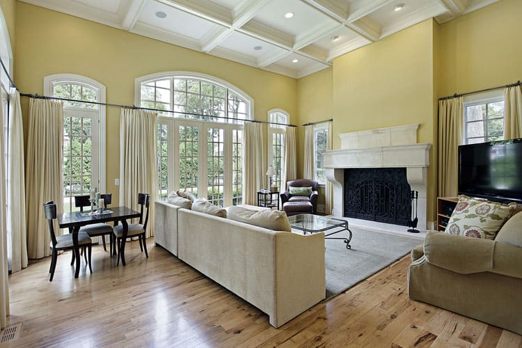 30 Living Rooms With Hardwood Floors 120
