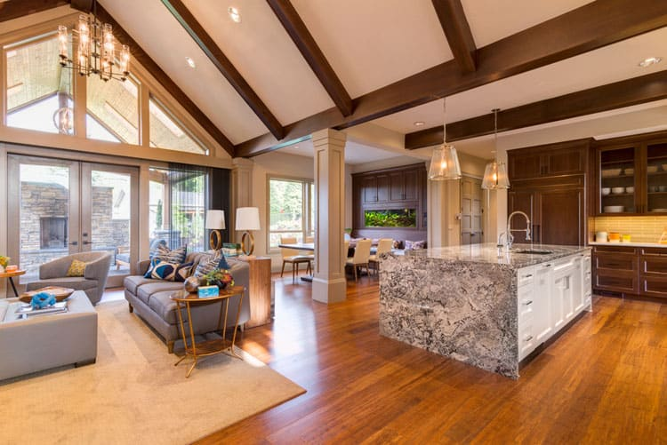 30 Living Rooms With Hardwood Floors 122