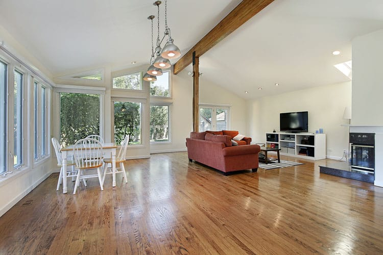 30 Living Rooms With Hardwood Floors 124