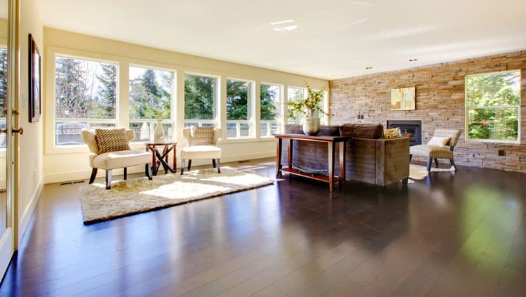 30 Living Rooms With Hardwood Floors 126
