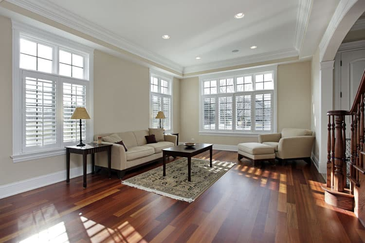 30 Living Rooms With Hardwood Floors 131