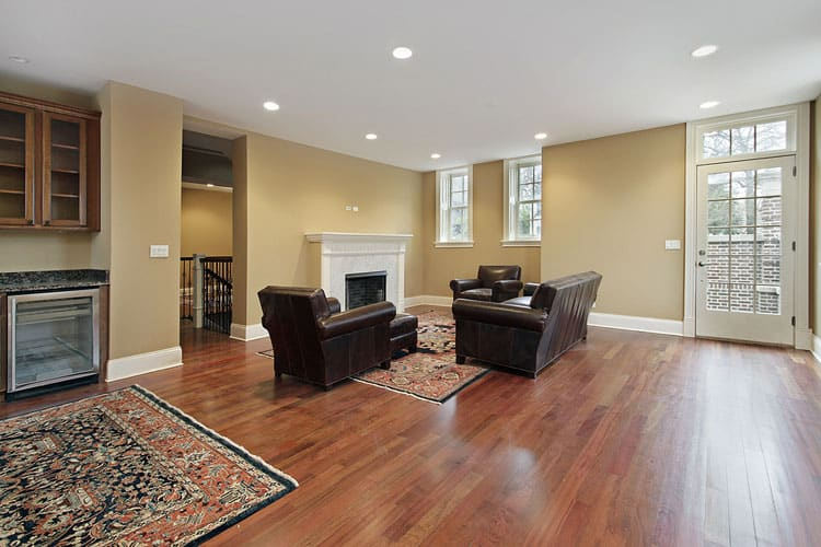 30 Living Rooms With Hardwood Floors 107