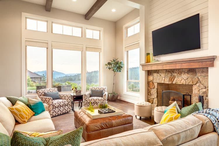 30 Living Rooms With Hardwood Floors 134