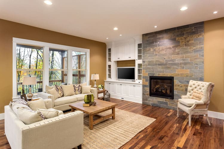 30 Living Rooms With Hardwood Floors 108