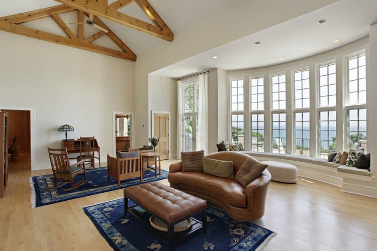 30 Living Rooms With Hardwood Floors 110