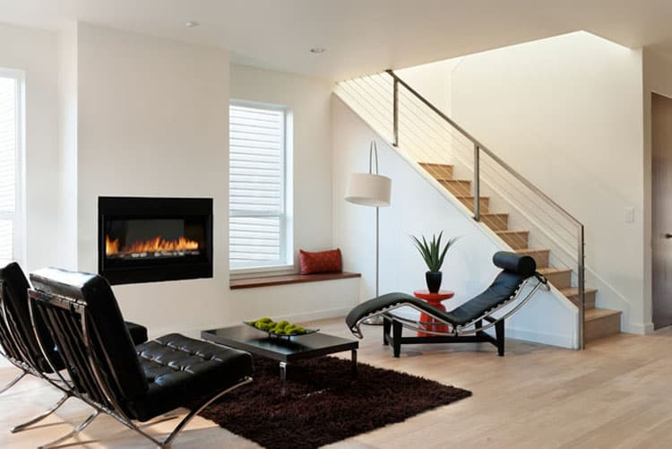 Living Rooms With Stairs 1