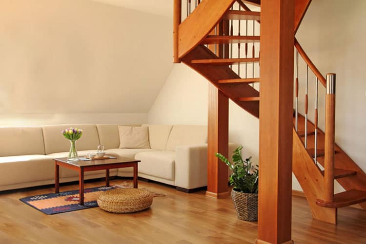 Living Rooms With Stairs 14
