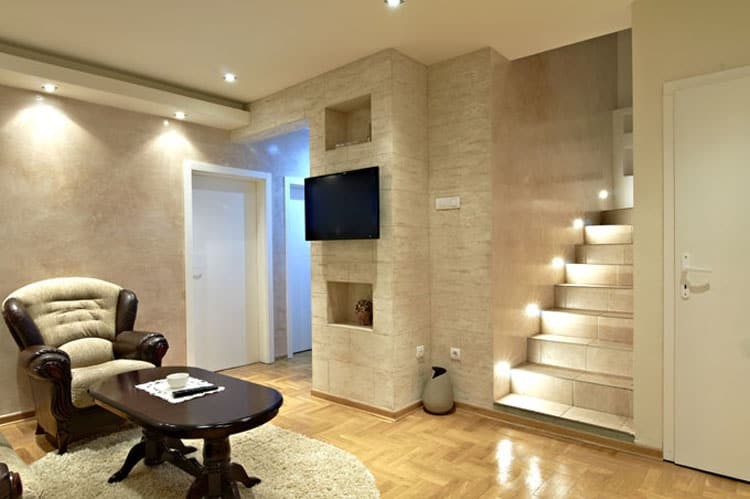 Living Rooms With Stairs 2