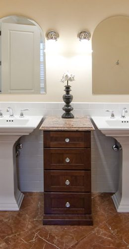Bathroom Vanities With Double Sinks