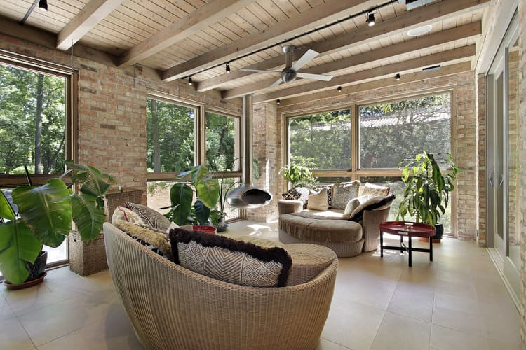 Modern Sunroom Ideas 17