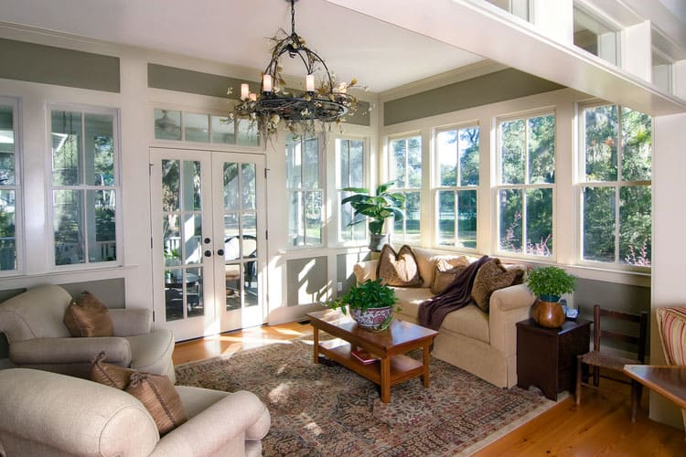 Modern Sunroom Ideas 19