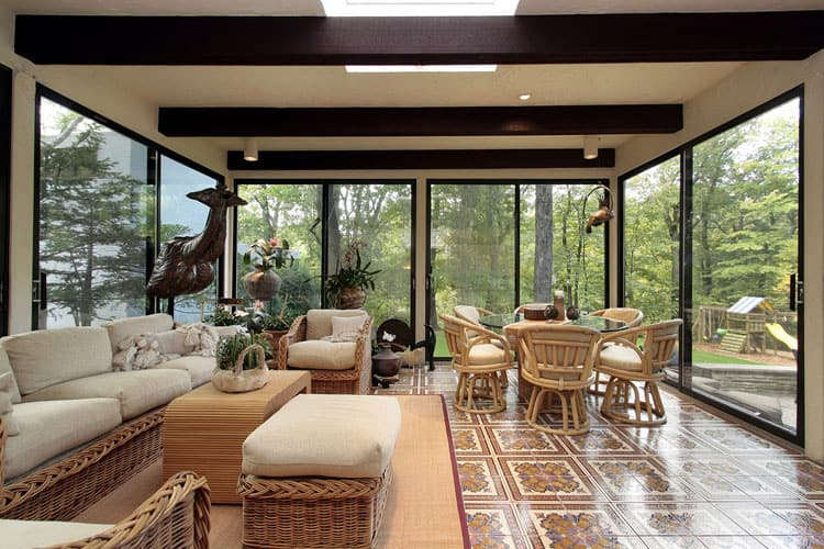 Modern Sunroom Ideas 22
